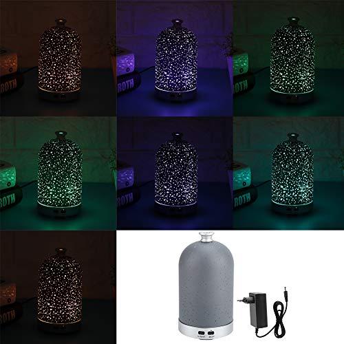 Sugoyi Humidificador de luz Nocturna LED Humidificador 100ml Difusor de aromaterapia Humidifica el...