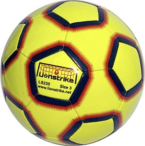 Lionstrike Pallone da Calcio Taglia 3 Lite - Pallone da Allenamento Leggero per Ragazzi Ragazze dai 3 ai 7 Anni
