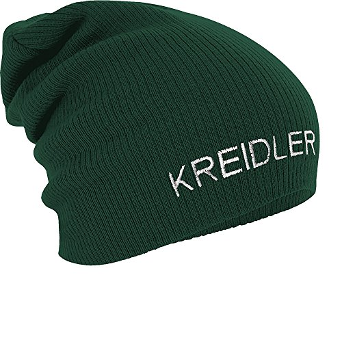 Fan-O-Menal Textilien Longbeanie Slouch-Beanie Mütze Kreidler 54575 Farbe grün