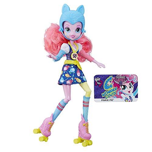 Hasbro My Little Pony - Bambola Pinkie Pie Pattinatrice - Equestria Girl Friendship Games