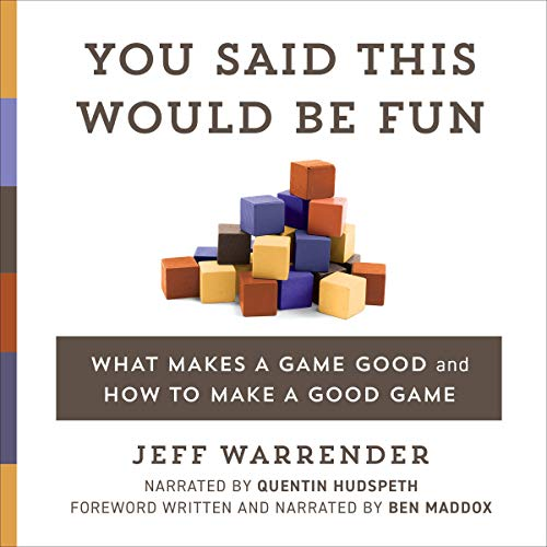 You Said This Would Be Fun Audiobook By Jeff Warrender cover art