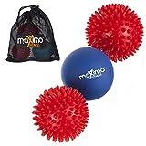 Maximo Fitness Boules de Massage–Pack de 3–Inclut 2x Boules à...