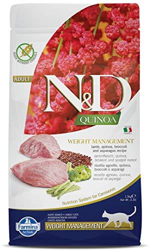 Farmina n&d quinoa gatto weight management agnello 1,5 kg