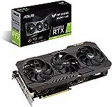 ASUS TUF Gaming NVIDIA GeForce RTX 3080 OC Edition 10GB GDDR6X - Tarjeta gráfica (PCIe 4.0, HDMI 2.1, DisplayPort 1.4a, Doble rodamiento de Bolas, Certificación Militar, GPU Tweak II)