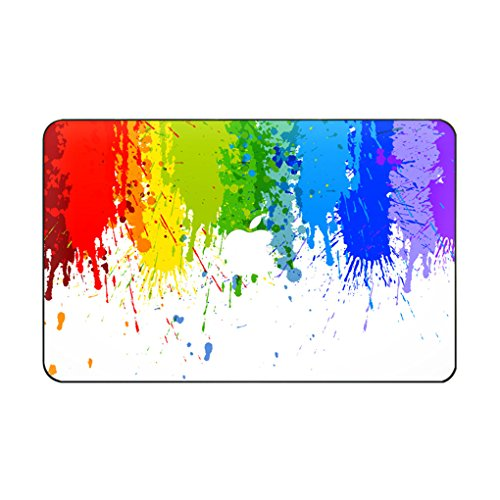 Fit for MacBook Pro 16' with Touch Bar/Touch ID (A2141) Customized Flowing Color Special Design Water Resistant Clip Snap-on Hard Case (Graffiti)