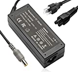 65W Laptop Adapter Charger for Lenovo Thinkpad E545 T420 T400 T410 T420s T500 T520 T530 E545 X140e X230 Edge 15 E430 E520 E530 T430u T520 X120e R500 SL500 SL510 AC Power Supply Cord