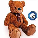 Europhant Teddy Bär XL 200 cm flauschig - Plüsch Kuscheltier Stofftier Plüschbär - Tüv Süd geprüft