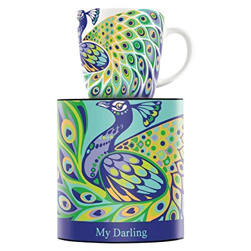 RITZENHOFF My Darling Kaffeebecher von Nilesh Mistry, aus Porzellan, 300 ml, mit trendigen Motiven