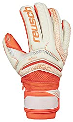 Orange Reusch Serathor G2 Evolution goalie glove