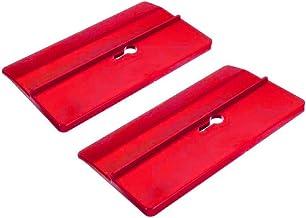 Plastic gipsplaten montage plafond gipsplaten positionering plaat rood/blauw voor holle wanddeuren en gipsplaat (rood)