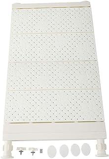HERCHR Étagère de Tension Extensible, étagères réglables de Placard de Garde-Robe étagère de séparateur de Support de Stoc...