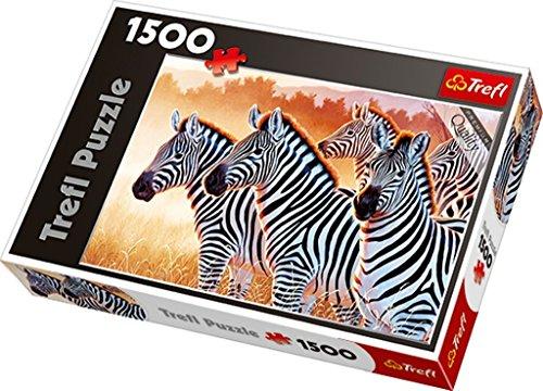 Trefl- Puzzle Zebre, 26129