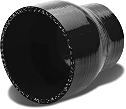 2.75 inches To 3 inches Straight Turbo/Intercooler/Intake Piping Coupler Reducer Silicone Hose (Black)