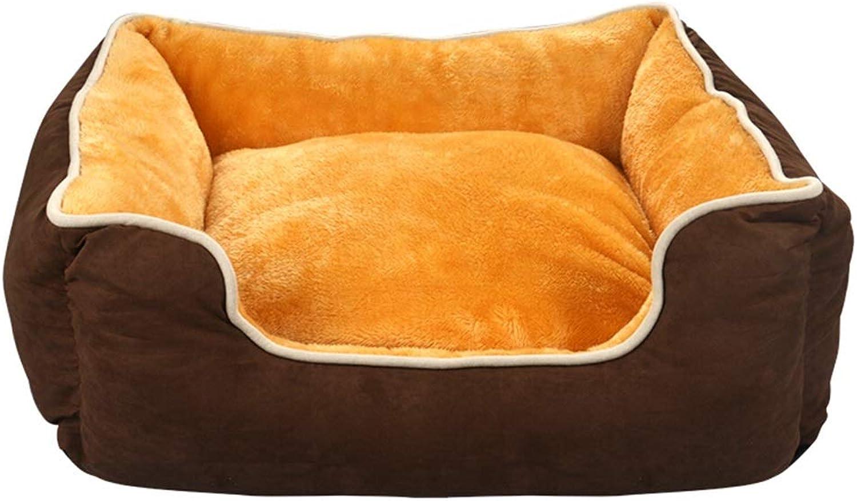 DSADDSD Pet Nest Dog Bed Cat Nest Pet Mat Pet Products Washable Medium And Large Dog Kennel (Size   M)