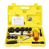 Juego de herramientas hidráulicas de chapa perforadora perforadora de metal perforado, juego de herramientas de elevación 22 mm