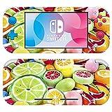 VINILOL Vinilo para Nintendo Switch Lite pegatina cubierta Gomitas Dulces skin para consola.