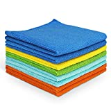 AIDEA Microfiber Cleaning Cloths All-Purpose Softer Highly Absorbent, Lint Free - Streak Free Wash Cloth for House,...