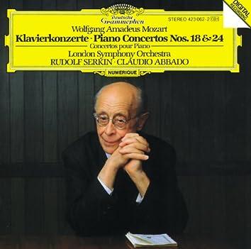 Mozart: Piano Concertos Nos.18 & 24