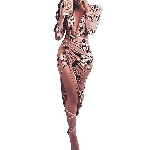 Vestidos de Mujer, Zolimx Vestido Verano 2018 Hombro Frío Casual Ajustados T-Shirt Vestido Coctel Fiesta Corto Dress Mini Solid Playa Falda Elegantes en Oferta