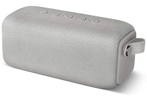 Fresh \'n Rebel ROCKBOX BOLD M | IPX7 Wasserdichter Bluetooth Lautsprecher - Cloud, Ice Grey