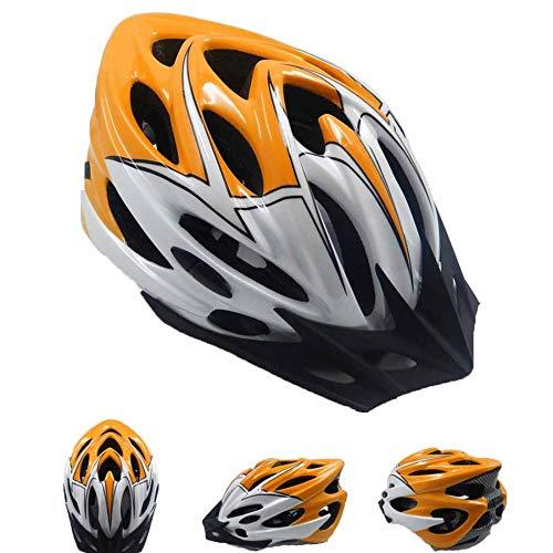 Casco da mountain bike MTX integralmente modellato Casco MTB MTB con visiera parasole traspirante fodera per casco rimovibile