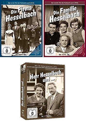Hesselbach - Die komplette Kultserie (inkl. Audio CD) (17 DVDs)