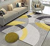 Mengjie Home Lavabile Tappeti di Design per Salotto Spessore...