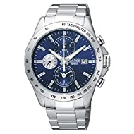 Lorus RF851DX9 Stainless Steel Chronograph Bracelet Mens Wrist Watch in Metal