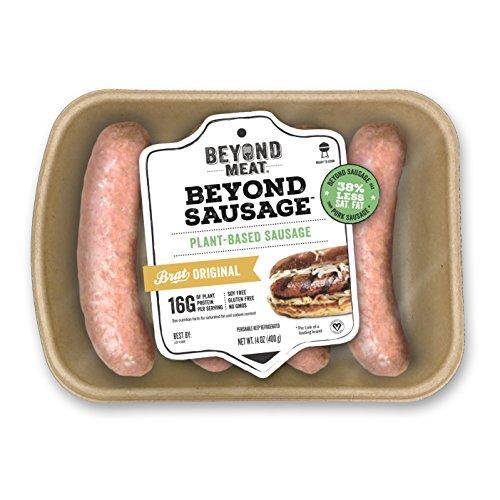 Beyond Meat, Beyond Sausage, Brat Original, 14 oz (Frozen)-PARENT