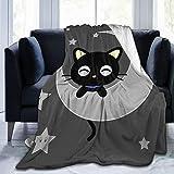 Lingassassin Sanrio Chococat Micro Fleece Bed Blankets Super Soft Cozy Luxury Couch Blanket 80'X60'