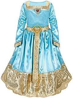Disney Store Brave Princess Merida Formal Costume Dress Size Small 5/6