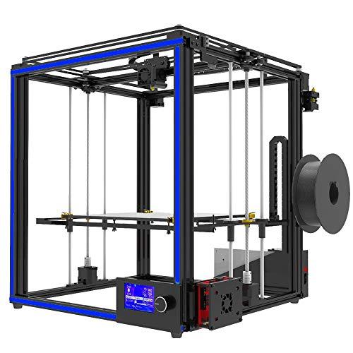 Z.L.FFLZ 3d Printer X5S DIY 3D Printer Kits Dual Z Axis Large Print Size 330 * 330 * 400mm With LCD12864 Screen Metal Frame