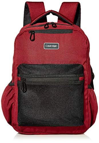 Calvin Klein Travel Backpack, Burgundy, One Size