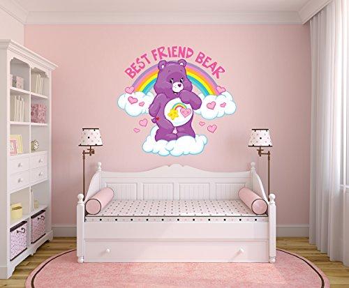 Certified Freak Best Friend Bear Wallart 105 x 100 cm