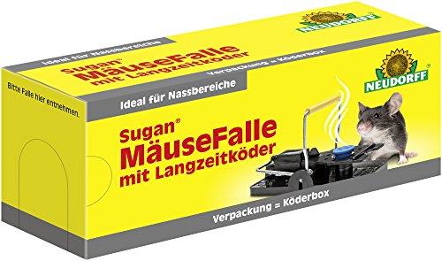 NEUDORFF Sugan MäuseFalle mit Langzeitköder 1 St.