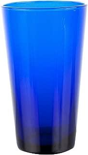 8 Pack - 17 oz. Cobalt Blue Cooler - Standard Glassware w/ Pourer