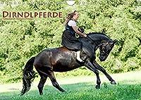 Dirndlpferde (Wandkalender 2022 DIN A4 quer): Wunderbare Dirndl und besondere Pferde (Monatskalender, 14 Seiten )