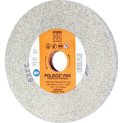 1 rueda de lija compacta PFERD POLINOX PNK-MH 15013-25,4 SiC F. : 47802639