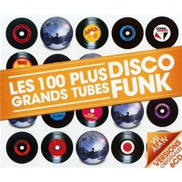 Les 100 Plus Grands Tubes Disco Funk (6 CD)