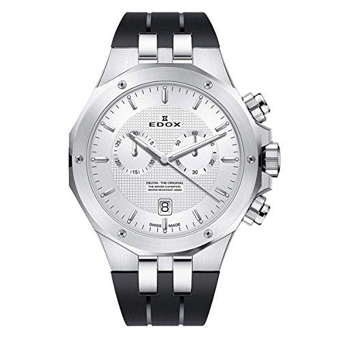 エドックス EDOX 腕時計 10110 3CA AIN デルフィン メンズ クロノグラフ [並行輸入品]