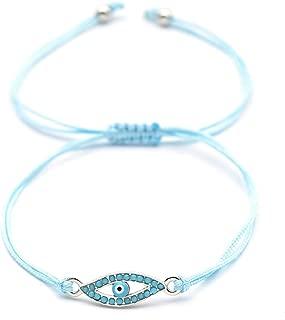 Evil Eye Bead Bracelet Meaning Beaded Black Beads Crystal Glass Gold