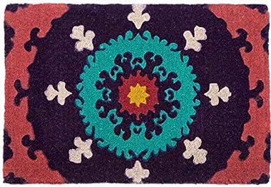 Suzanni 100% Coir Doormat | | Fab Habitat (60x90 cm)