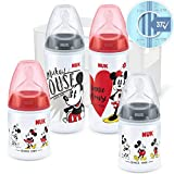 NUK 10225251 NUK Disney Mickey Mouse First Choice + Juego de iniciación de...