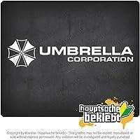 アンブレラCorperation Umbrella Corperation 20cm x 4,5cm 15色 - ネオン+クロム! ステッカービニールオートバイ