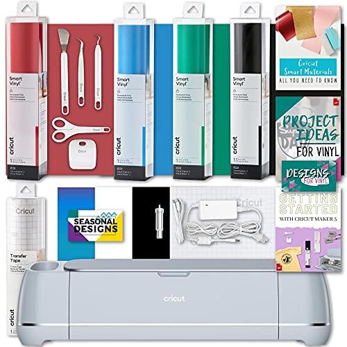 Cricut Maker 3 Machine Smart Vinyl & Tools Bundle