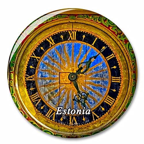 Estland Kirchenuhr Kühlschrank Magnete Dekorative Magnet Flaschenöffner Tourist City Travel Souvenir Collection Geschenk Starker Kühlschrank Aufkleber