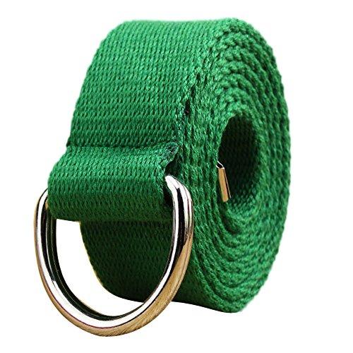Cinturón de Lona Mujer o Hombre Ancho con Doble Lazo cinturóns Cintura