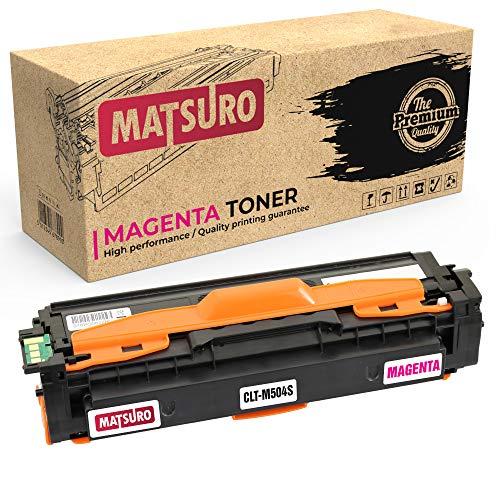 Matsuro Original   Kompatibel Tonerkartusche Ersatz für Samsung CLT-M504S (1 Magenta)