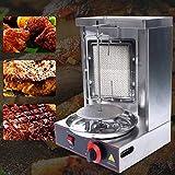 Máquina de gas vertical de acero inoxidable Doner Kebab Machine,Broiler Shawarma Machine,Spinning Doner Kebab Gyro