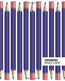 Notebook Pencil | Lápiz (8x10 Carnet) (Light Purple)